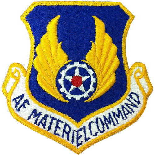 Air Force Patch: Air Force Materiel Command - flight suit