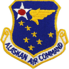 Air Force Patch: Alaskan Air Command - color