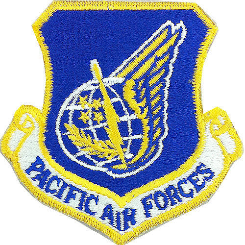 Air Force Patch: Pacific Air Force - color
