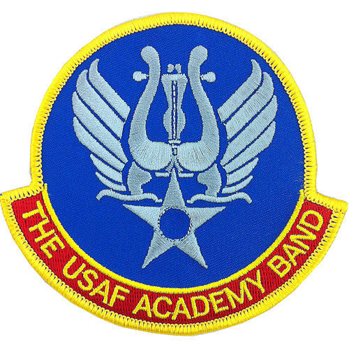Air Force Patch: Air Force Academy Band - color