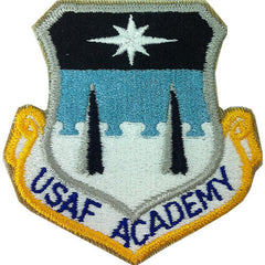 Air Force Patch: Air Force Academy - color with hook closure
