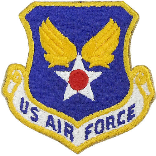 Air Force Patch: U.S. Air Force - color with hook closure