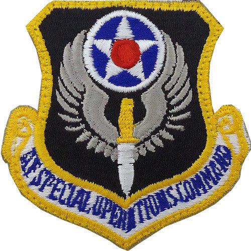 Air Force Patch: Air Force Special Operations - color with hook closure