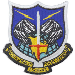 Air Force Patch: North American Aerospace Defense Command - color