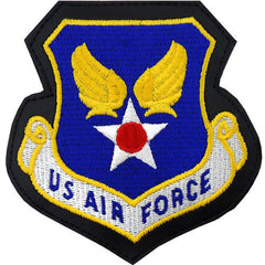 Air Force Patch: U.S. Air Force - leather with hook closure