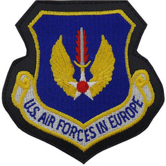 Air Force Patch: Air Forces In Europe - leather with hook closure