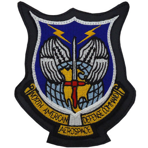 Air Force Patch: North American Aerospace Defense Command - leather
