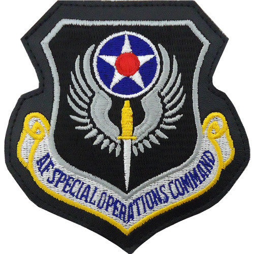 Air Force Patch: Air Force Special Operations - leather