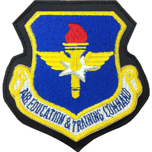 Air Force Patch: Air Education and Training Command - leather