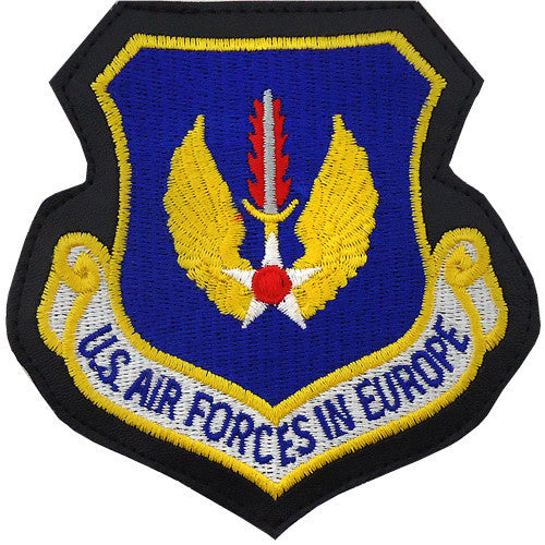 Air Force Patch: Air Force In Europe - leather