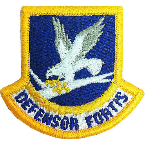 Air Force Patch: Security Force Enlisted - color