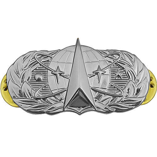 Air Force Badge: Space Operations - midsize