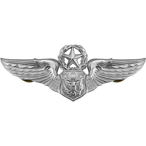 Air Force Badge: Officer Aircrew: Master - regulation size