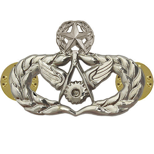 Air Force Badge: Civil Engineer: Master - regulation size