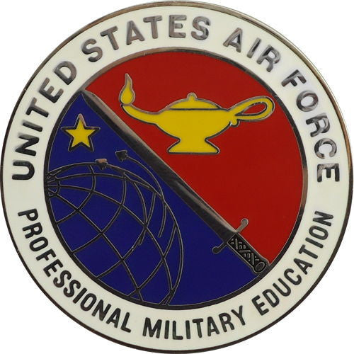 Air Force Badge: Professional Military Education
