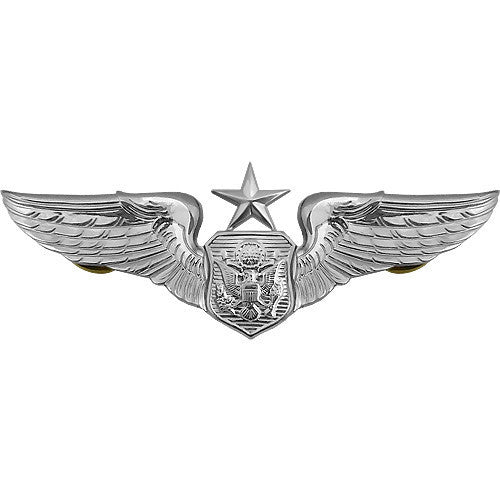 Air Force Badge: Officer Aircrew: Senior - regulation size