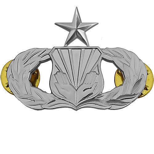 Air Force Badge: Chaplain Assistant: Senior - midsize