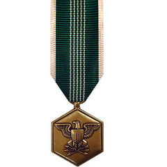 Army miniature Medal: Commendation