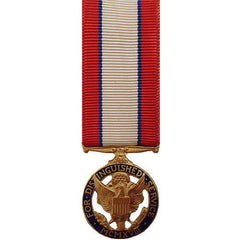 Army miniature Medal: Distinguished Service