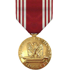 Full Size Medal: Army Good Conduct - 24k Gold Plated