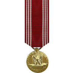 Miniature Medal- 24k Gold Plated: Army Good Conduct