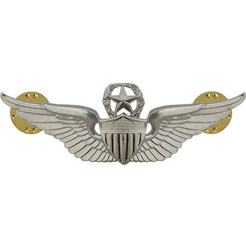 Army Badge: Master Aviator - regulation size, mirror finish