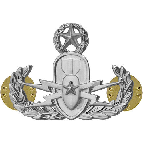 Air Force Badge: Explosive Ordnance Disposal: Master - midsize