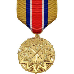 Full Size Medal: Army NATIONAL GUARD Reserve Component Achievement - 24k Gold Plated