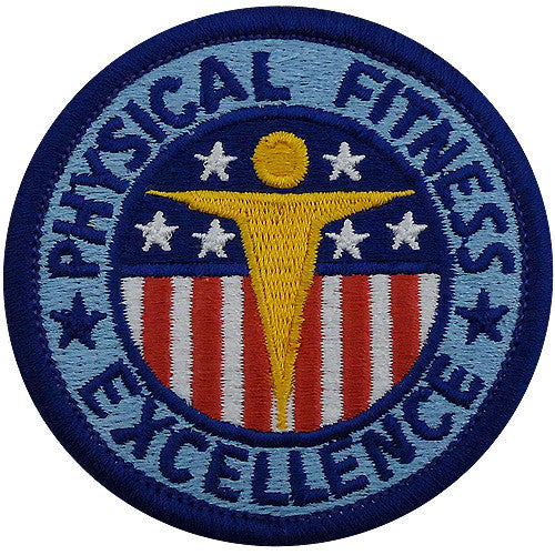 Army Patch: Physical Fitness - color