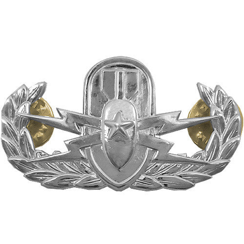 Army Badge: Senior Explosive Ordnance Disposal - mirror finish