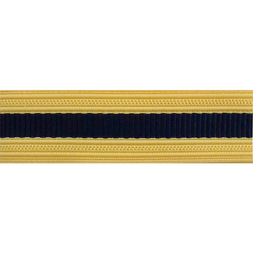 Army Sleeve Braid: Adjutant General - dark blue and gold