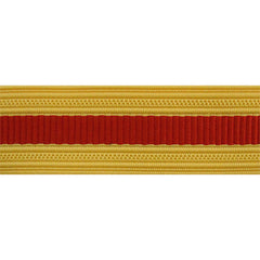 Army Sleeve Braid: Artillery - scarlet