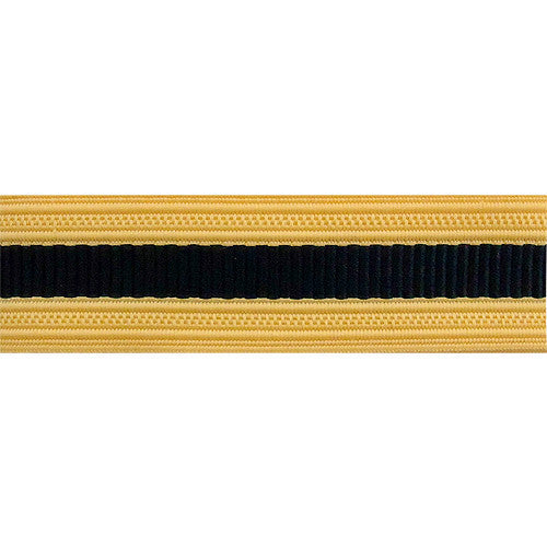Army Sleeve Braid: Judge Advocate - dark blue and gold