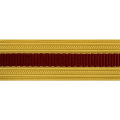 Army Sleeve Braid: Medical - maroon