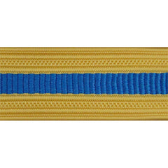 Army Sleeve Braid: Military Intelligence - oriental blue