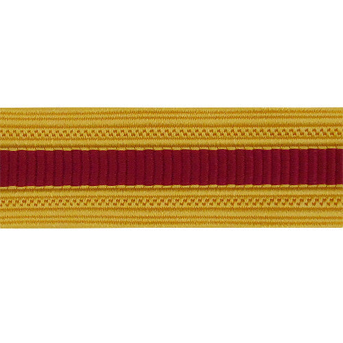 Army Sleeve Braid: Ordnance - crimson