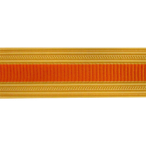 Army Sleeve Braid: Signal - orange