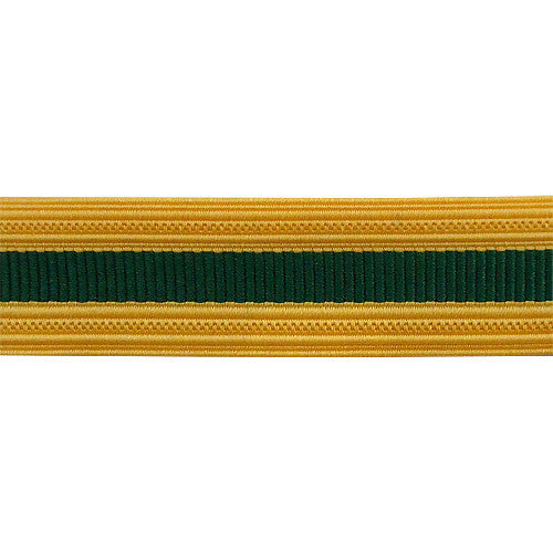 Army Sleeve Braid: Staff Specialist - green