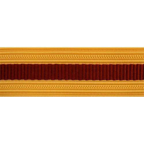 Army Sleeve Braid: Transportation - brick red