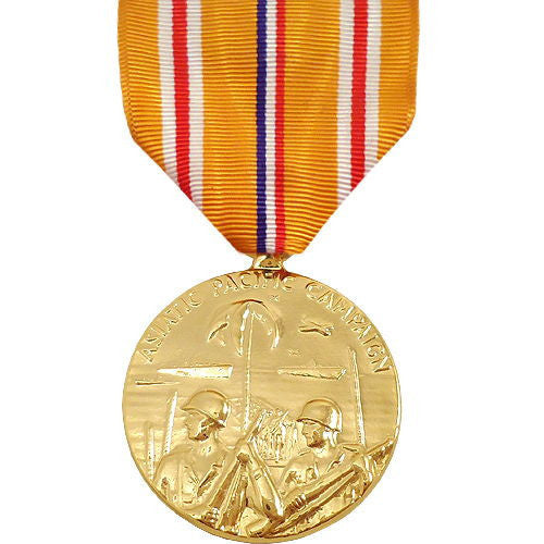 Full Size Medal: Asiatic Pacific Campaign - anodized