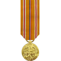 Miniature Medal- 24k Gold Plated: Asiatic Pacific Campaign