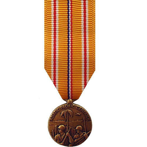 Miniature Medal: Asiatic Pacific Campaign