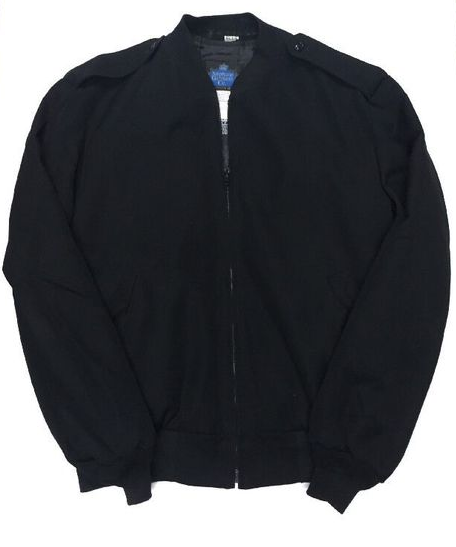 U.S. Naval Sea Cadet Corps Navy Relaxed Fit Black Jacket