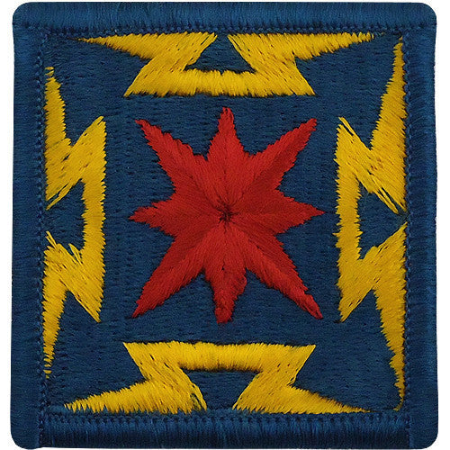 Army Patch: Broadcasting Service - color