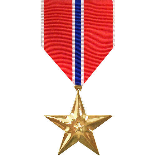 Full Size Medal: Bronze Star - anodized