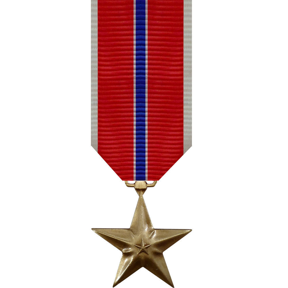 Miniature Medal: Bronze Star