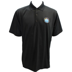CAP- 75th Anniversary: Black Polo