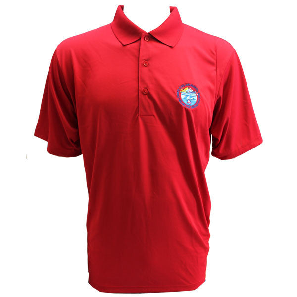 CAP- 75th Anniversary: Red Polo