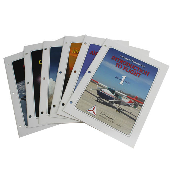 Civil Air Patrol Training Materials: Aerospace Dimensions - all 6 modules