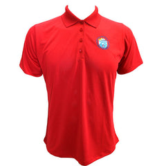 CAP- 75th Anniversary: Red Polo (Ladies)